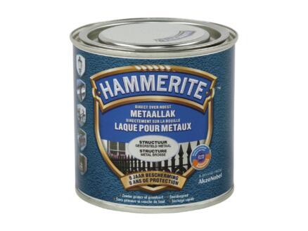 Hammerite laque peinture métal structure 0,25l métal ciré