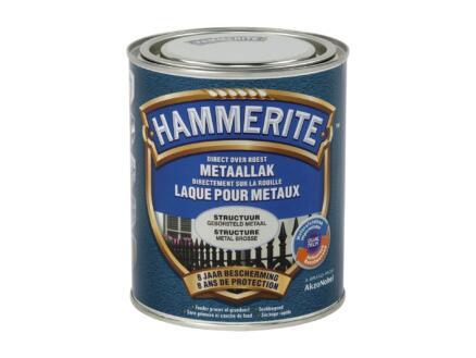 Hammerite laque peinture métal structure 0,75l métal ciré