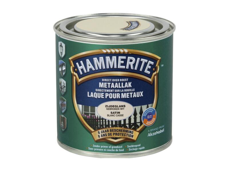 Hammerite laque satin 0,25l blanc cassé