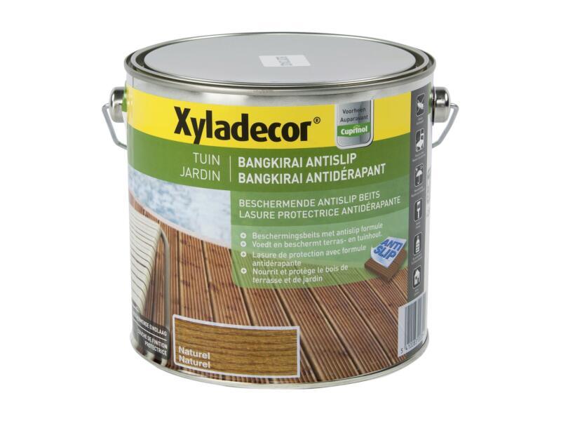 Xyladecor lasure antidérapante 2,5l naturel
