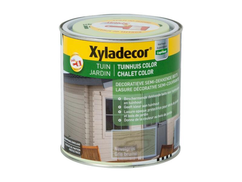 Xyladecor lasure bois de jardin color 1l gris brume