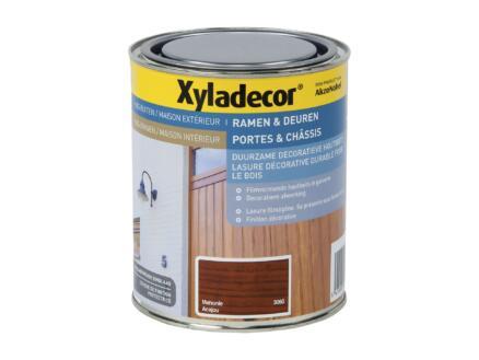 Xyladecor lasure bois portes & châssis 0,75l acajou