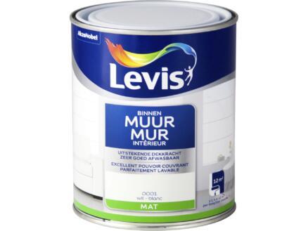 Levis latex muurverf mat 1l wit