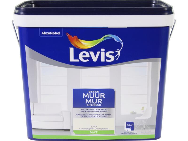 Levis latex muurverf mat 5l champagne