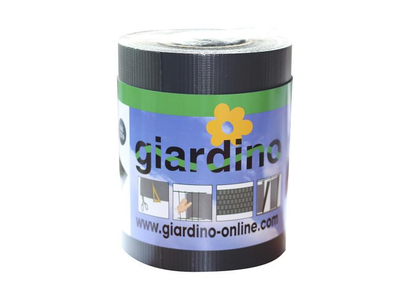 Giardino lint met clips 19cm grijs