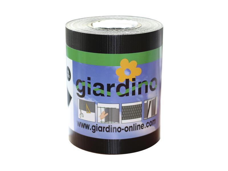 Giardino lint met clips 19cm zwart