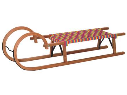 AVR luge 95cm bois/textile