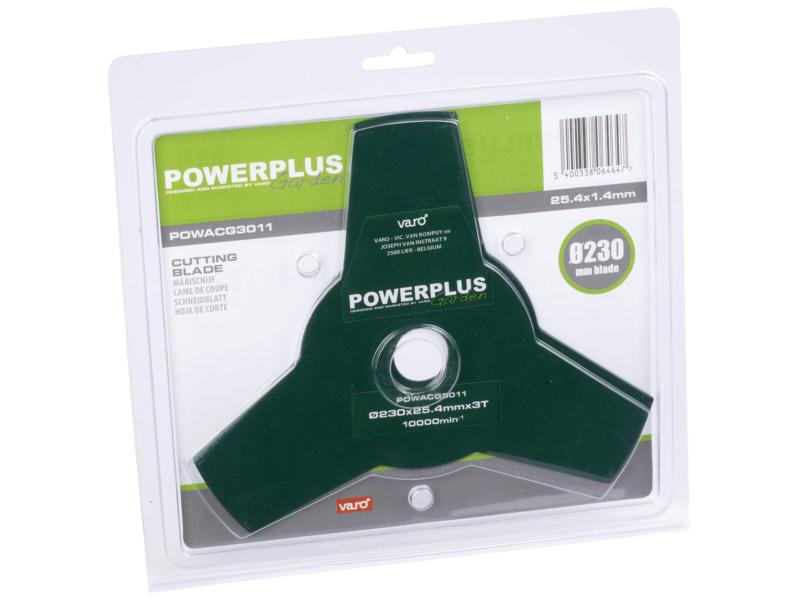 Powerplus maaischijf 1,4mm 23cm