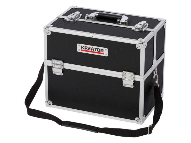 Kreator mallette 36x23x30 cm aluminium noir