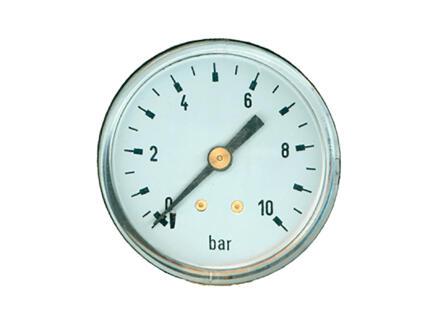 Saninstal manomètre axiale 52mm 1/4
