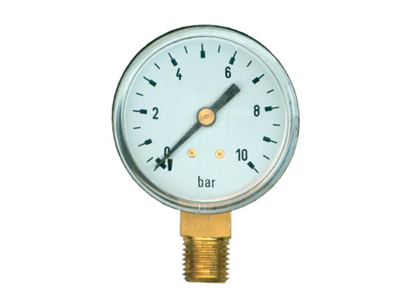 Saninstal manomètre radial 52mm M 1/4