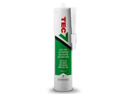Tec7 mastic-colle 310ml blanc