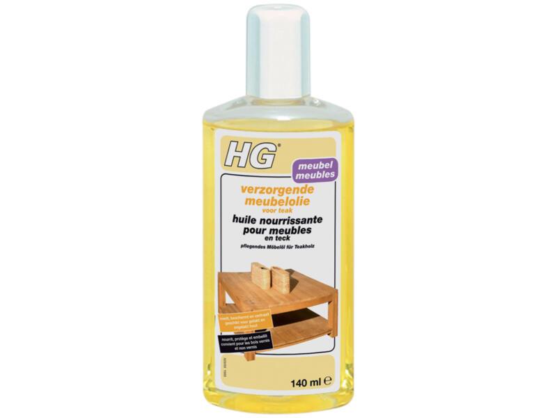 HG meubelolie verzorgend teak 140ml