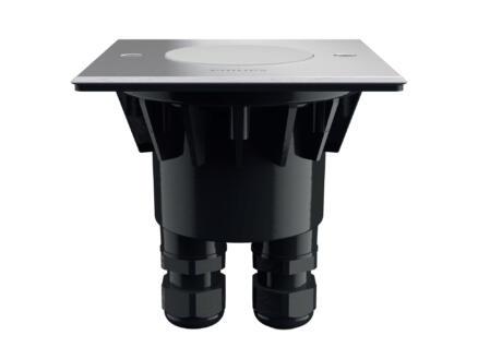 Philips myGarden Crust spot de sol LED encastrable 4W inox