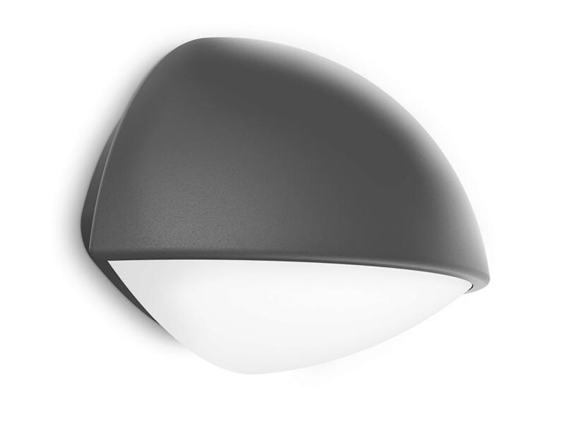 Philips myGarden Dust LED wandlamp 3W antraciet