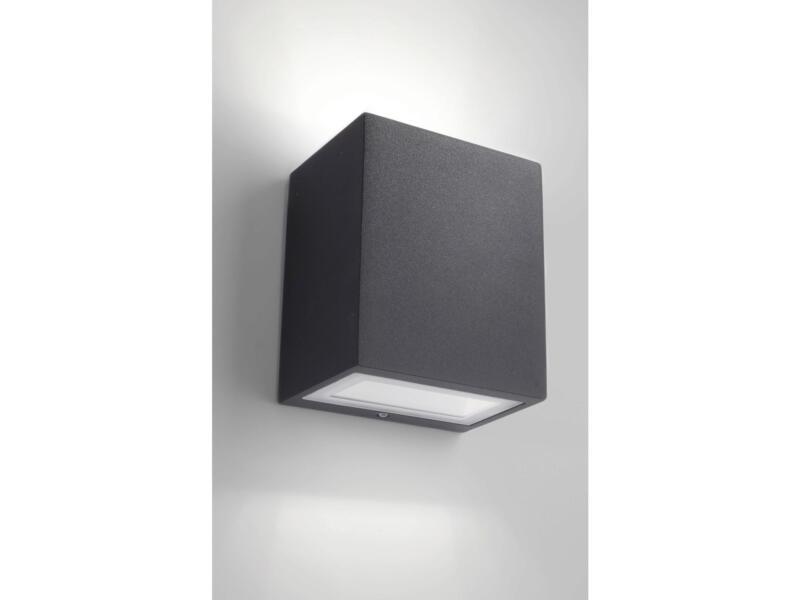 Philips myGarden Flagstone LED wandlamp zwart
