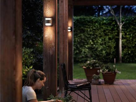 Philips myGarden Grass LED wandlamp 2x4,5 W antraciet