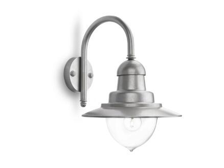 Philips myGarden Raindrop wandlamp E27 max. 60W zilver
