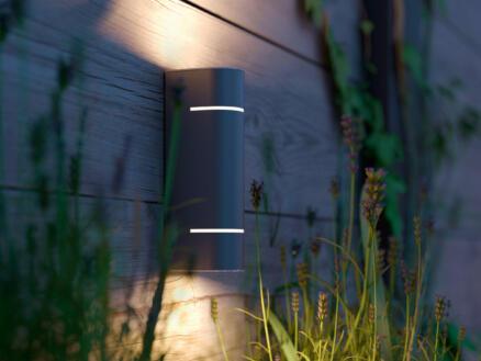 Philips myGarden Sunset LED wandlamp 2x1 W inox
