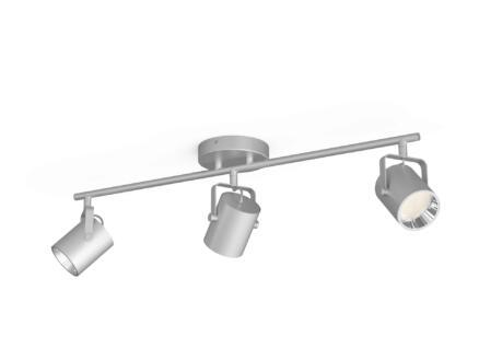 Philips myLiving Byre LED barre de spots 3x4,3W argent