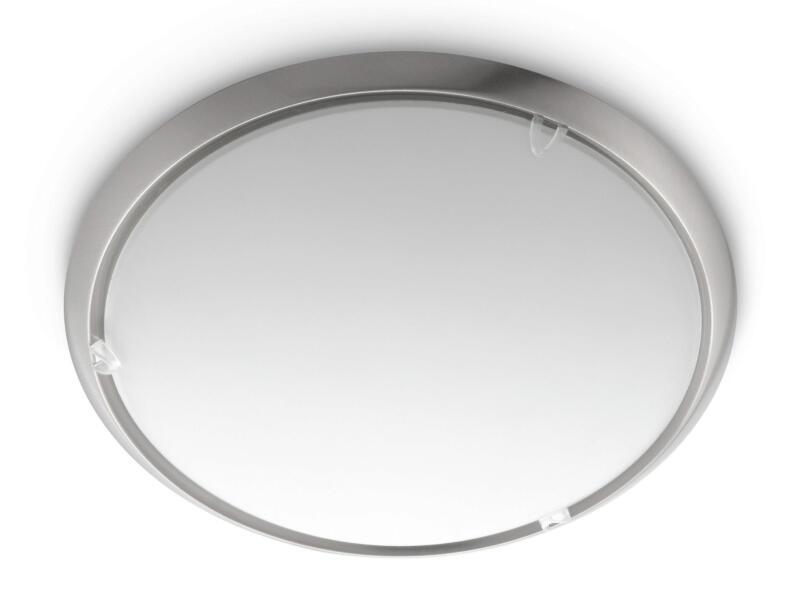 Philips myLiving Canvas lamp E27 max. 60W dimbaar mat chroom