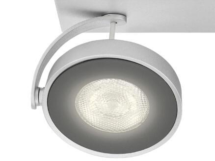 Philips myLiving Clockwork LED wandspot 4,5W dimbaar aluminium