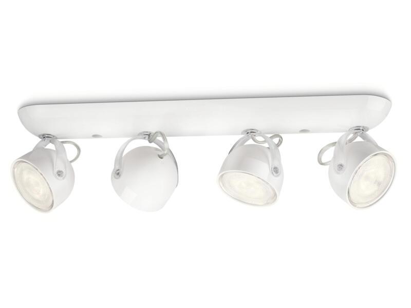 Philips myLiving Dyna barre de spots LED 4x3W blanc