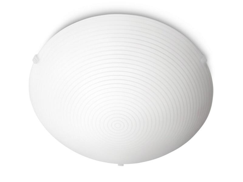 Philips myLiving Fallow plafonnier E27 18W blanc