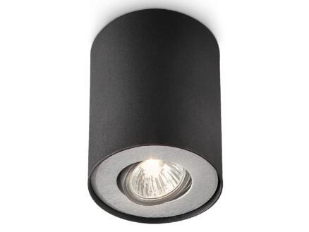 Philips myLiving Pillar wandspot GU10 max. 35W dimbaar zwart