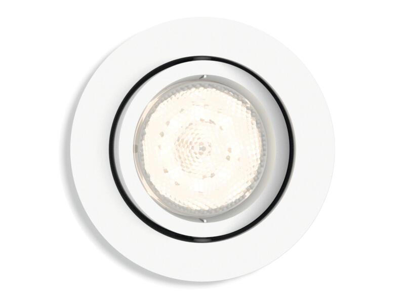 Philips myLiving Shellbark LED inbouwspot rond 4,5W dimbaar wit
