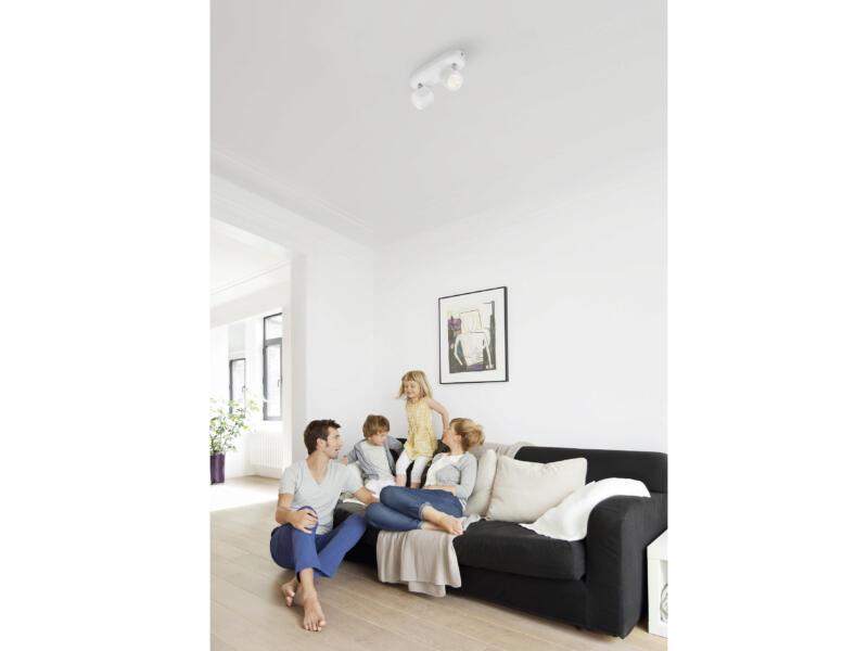 Philips myLiving Star LED balkspot 2x4,5W dimbaar wit