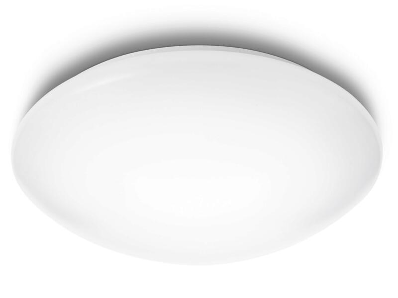 Philips myLiving Suede plafonnier LED 4x3W 28cm blanc