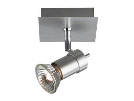 Philips myLiving Titan plafondspot GU10 max. 50W dimbaar aluminium