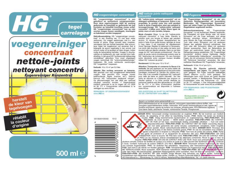 HG nettoie-joints concentré 500ml
