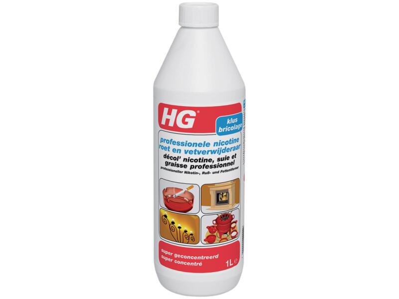 HG nicotine-, roet- en vetverwijderaar geconcentreerd 1l
