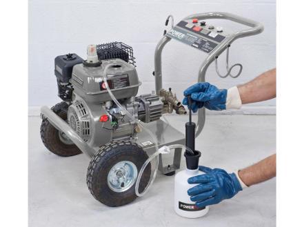Powerplus Garden olie/brandstofverwijderaar powacg8010