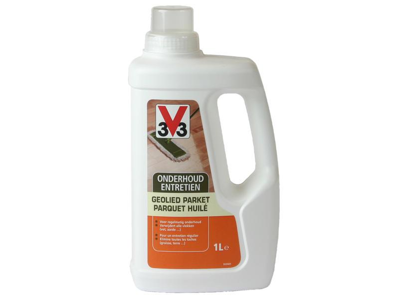V33 onderhoud geolied parket 1l kleurloos