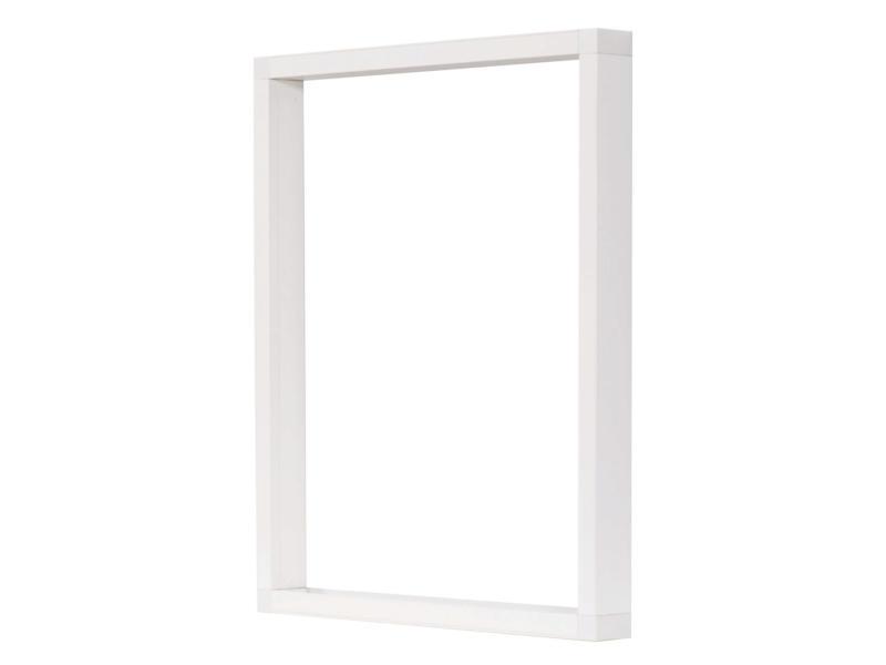 CanDo opbouwkader voor plisséhordeuren 260x260cm wit