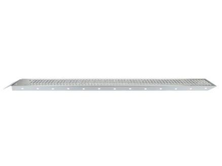 Practo Tools oprijplaat 182cm gegalvaniseerd staal