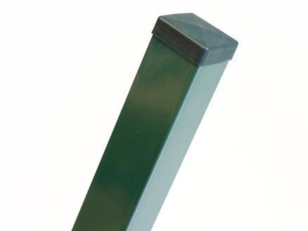 Giardino paal 260x6 cm vierkant groen