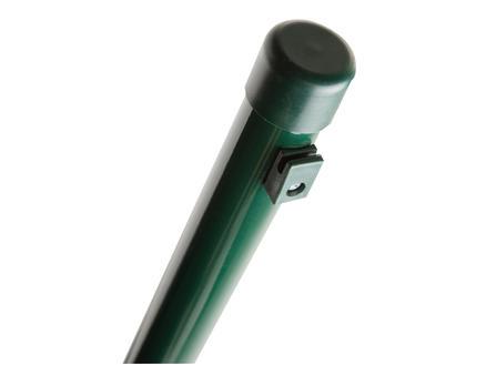 Giardino paal met houders 120x4 cm rond groen