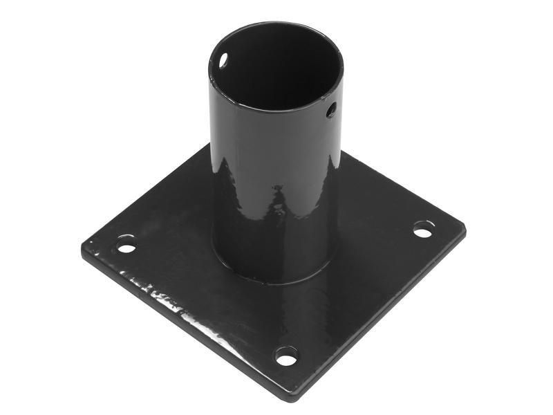 Giardino paalhouder ronde paal 40mm zwart