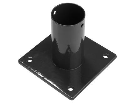 Giardino paalhouder ronde paal 60mm zwart