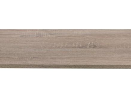 CanDo panneau de meuble 250x30 cm 18mm chêne bronze