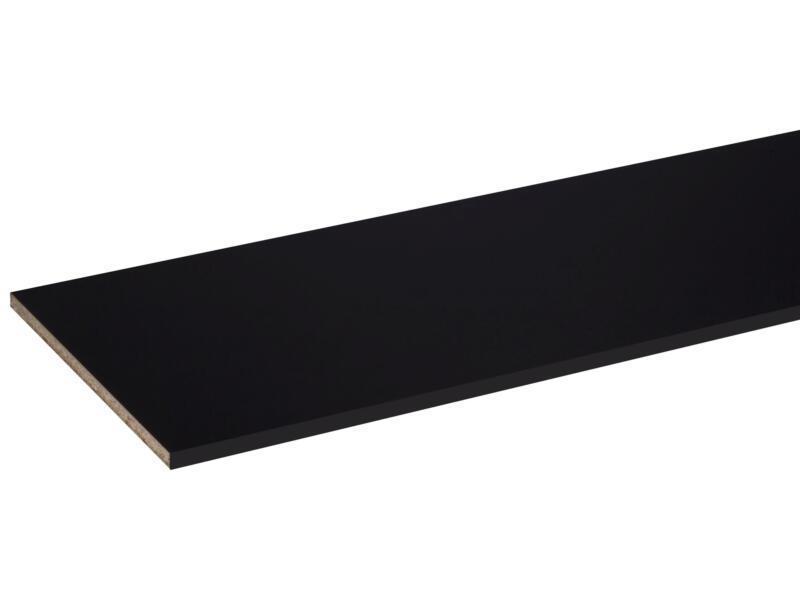 CanDo panneau de meuble 250x40 cm 18mm perlé noir