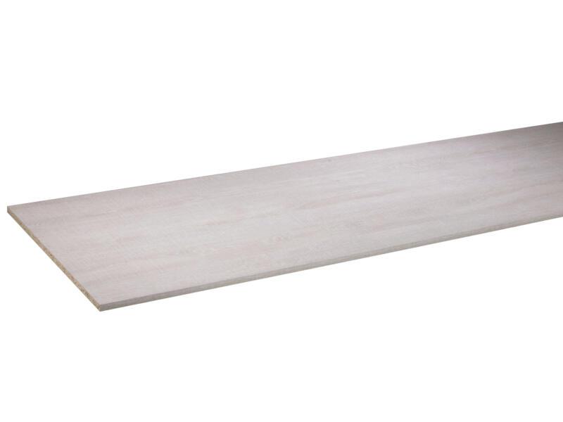 CanDo panneau de meuble 250x60 cm 18mm chêne blanchi