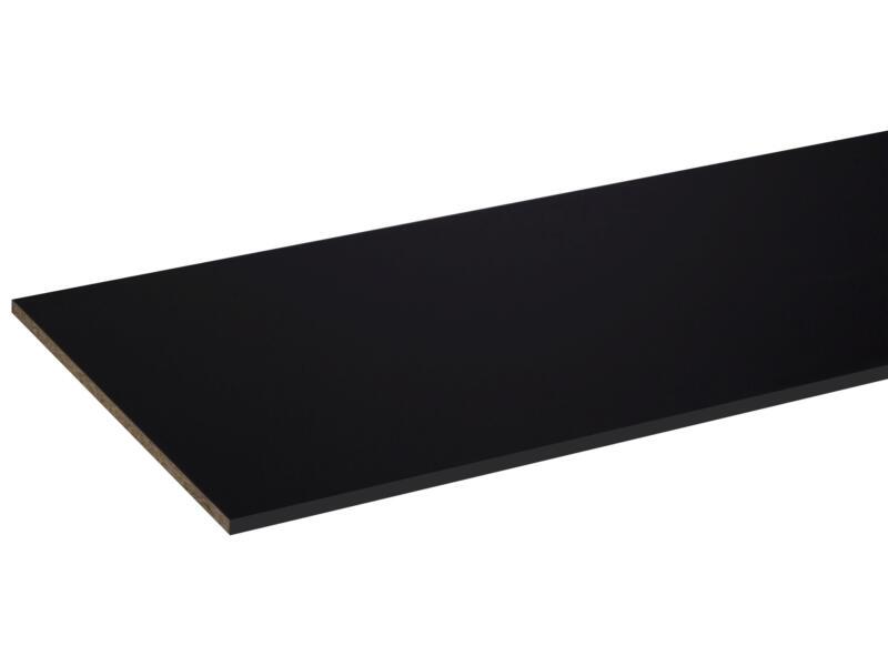CanDo panneau de meuble 250x60 cm 18mm perlé noir