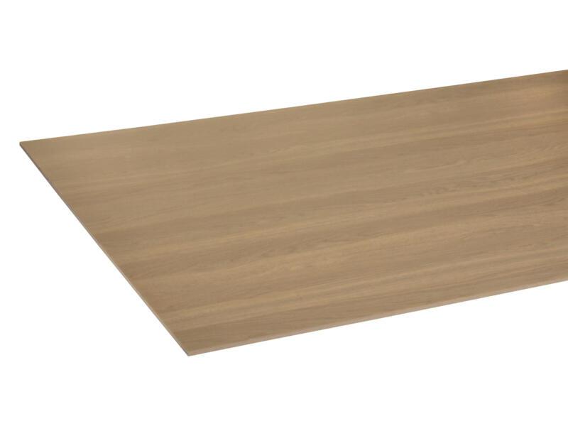 StoreMax panneau porte de placard 101x255 cm 8mm chêne bronze/blanc