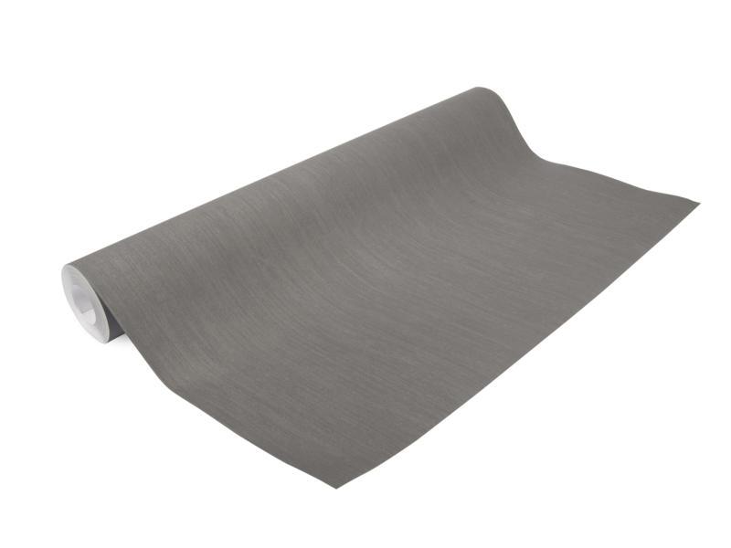 Superfresco Easy papier peint intissé 52cm 10m effet lin anthracite