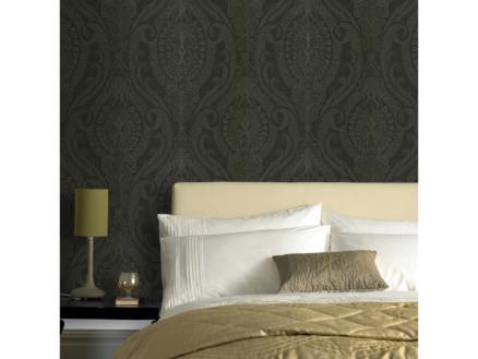 Superfresco Easy papier peint intissé Medaillon 52cm x 10m noir